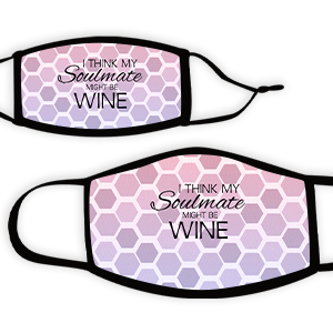 Picture of Hex pinkpurple Soulmate Wine Face Mask