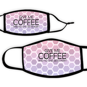 Picture of Hex pinkpurple Coffee Face Mask