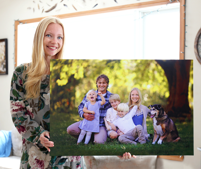 Picture of 8x10 Gallery Wrap Portrait