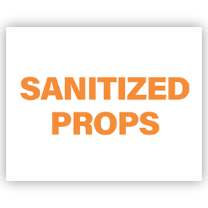 Picture of 14x11 Photo Sanitize Props Orange