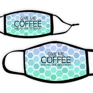 Picture of Hex bluegreen Coffee Face Mask